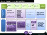 golden gekko in the value chain