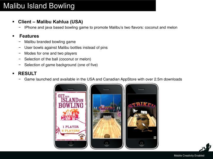 Malibu Island Bowling