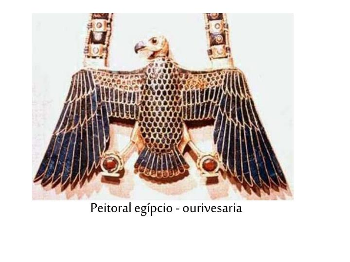 Peitoral egípcio - ourivesaria