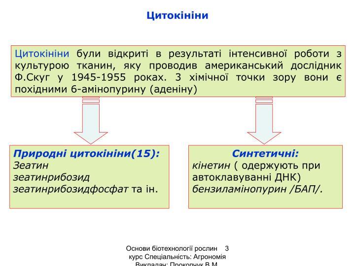 Цитокініни