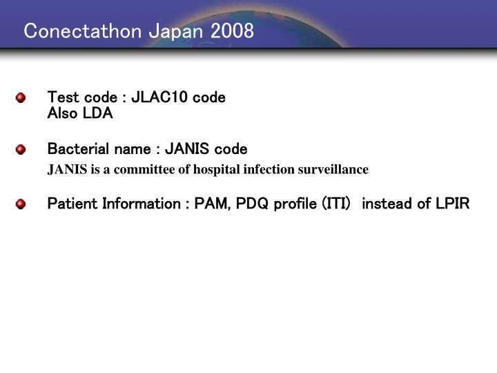 Conectathon Japan 2008