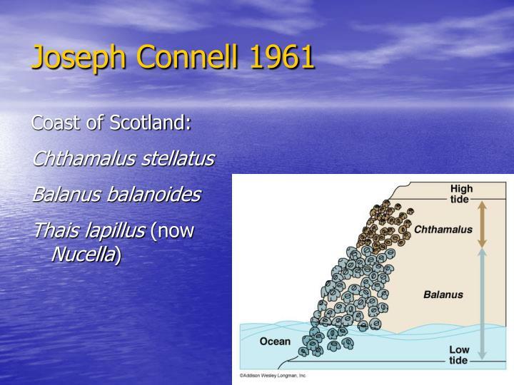Joseph Connell 1961