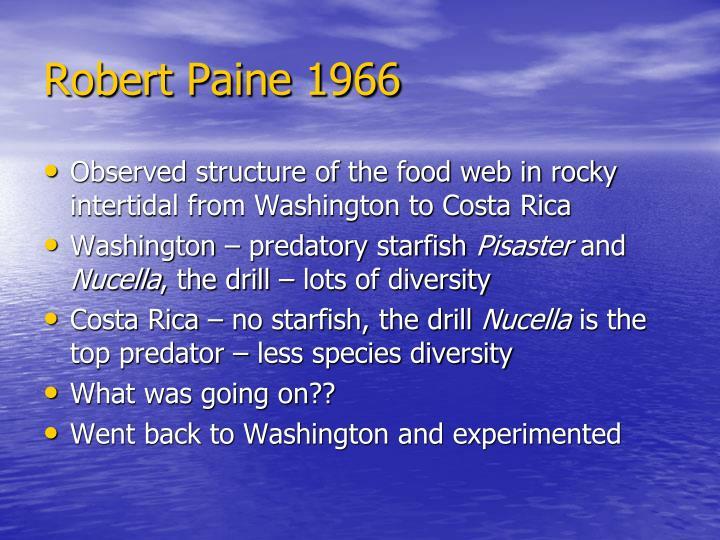 Robert Paine 1966