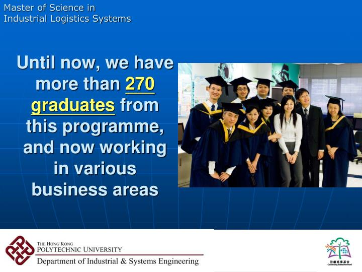 Master of Science in