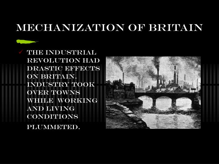 Mechanization of Britain