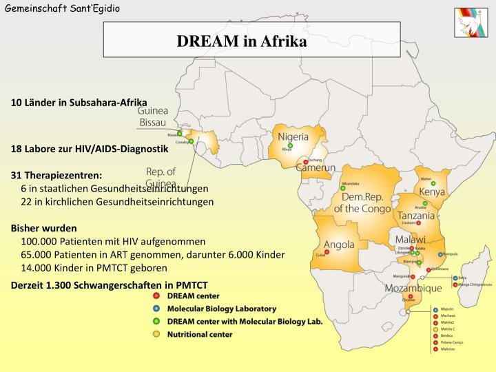 DREAM in Afrika