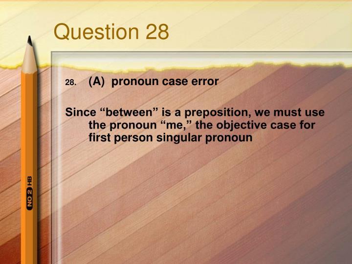 Question 28