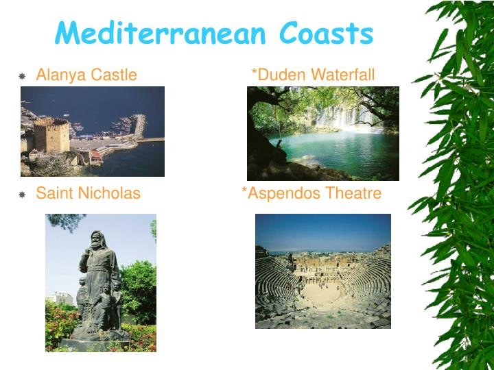 Mediterranean coasts