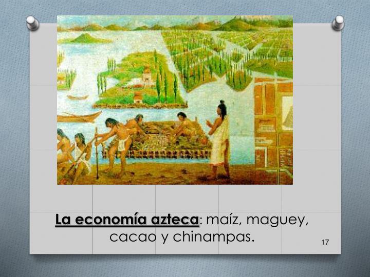 La economía azteca