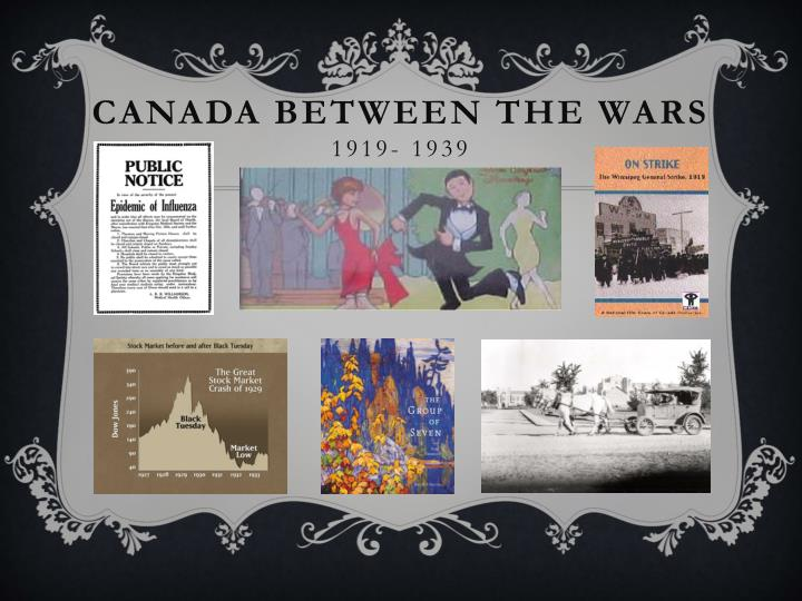 canada between the wars 1919 1939