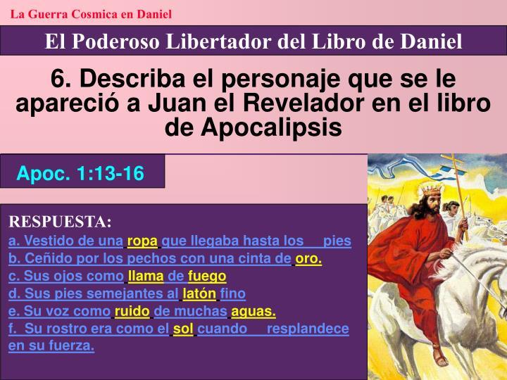 La Guerra Cosmica en Daniel
