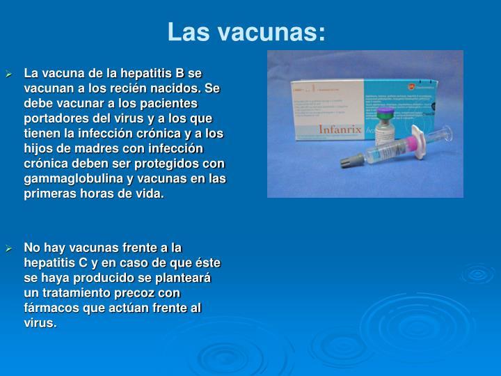 Las vacunas:
