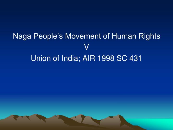 Naga People's Movement of Human Rights