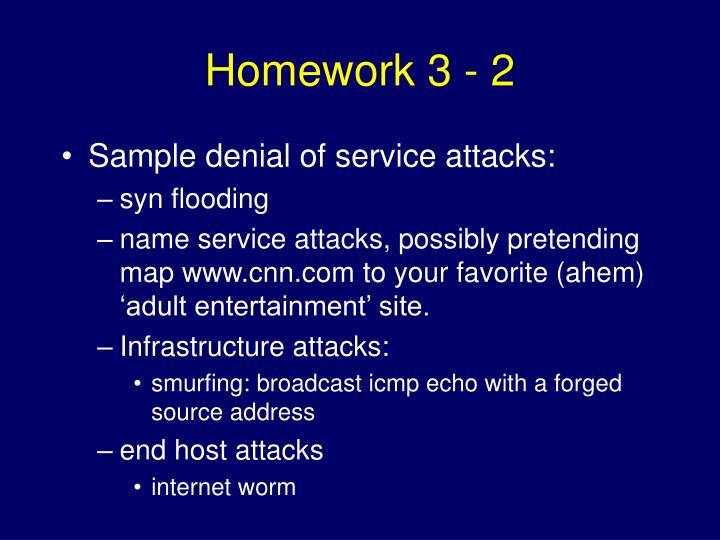 Homework 3 - 2