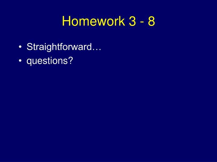 Homework 3 - 8