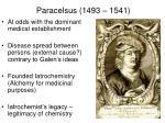 paracelsus 1493 1541