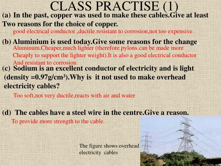CLASS PRACTISE