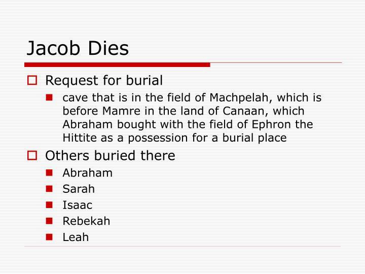 Jacob Dies