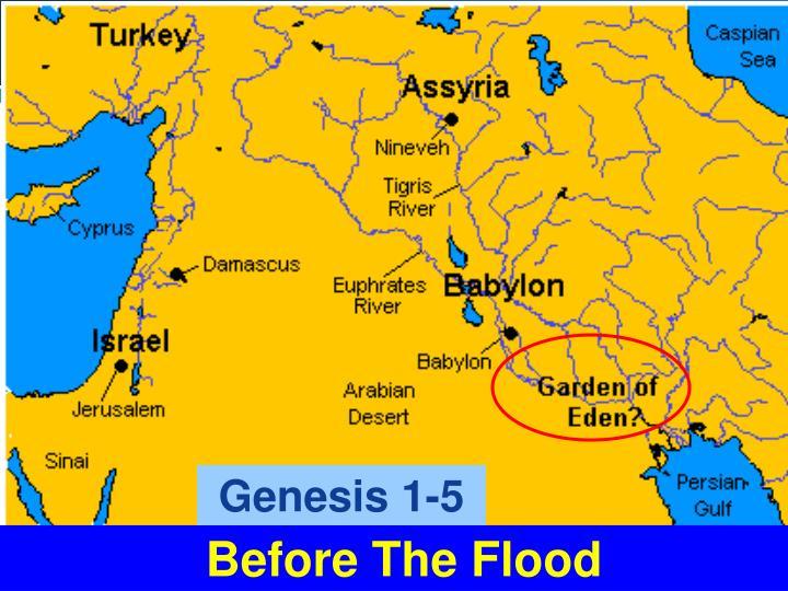 Genesis 1-5
