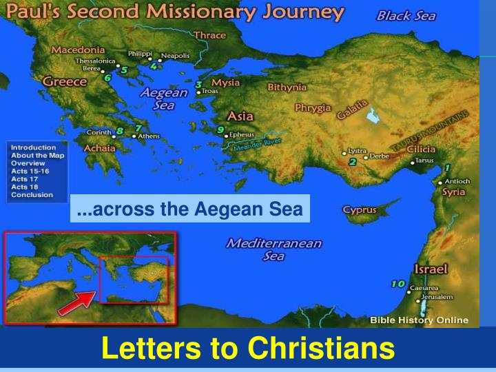 ...across the Aegean Sea