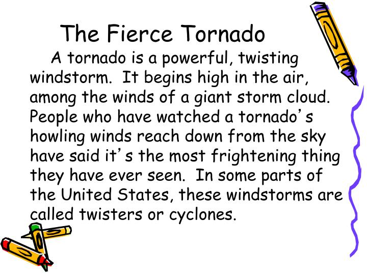 The Fierce Tornado