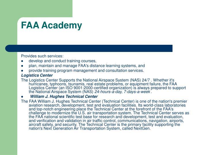 FAA Academy