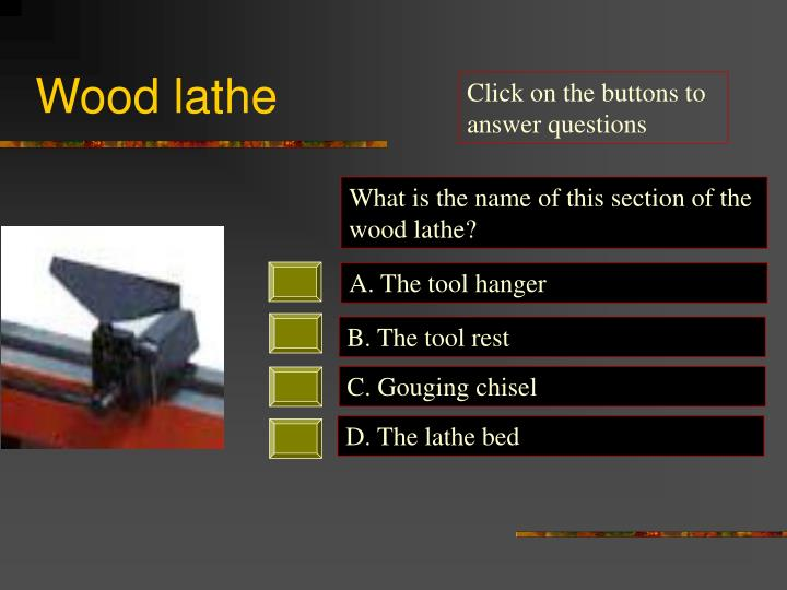 Wood lathe