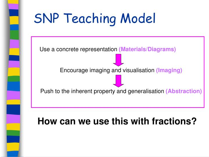 SNP Teaching Model