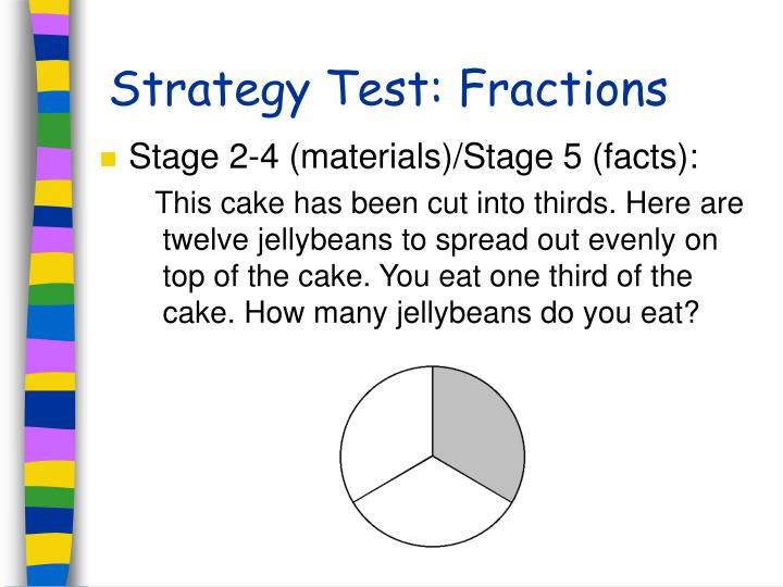 Strategy Test: Fractions