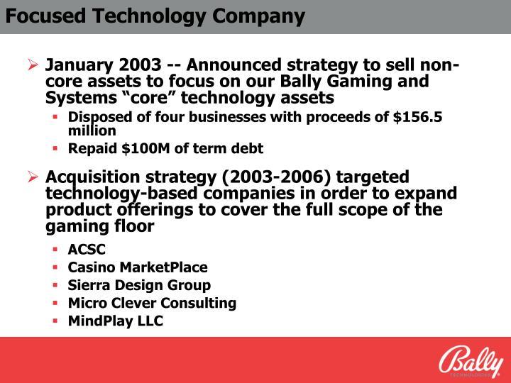 Focused Technology Company