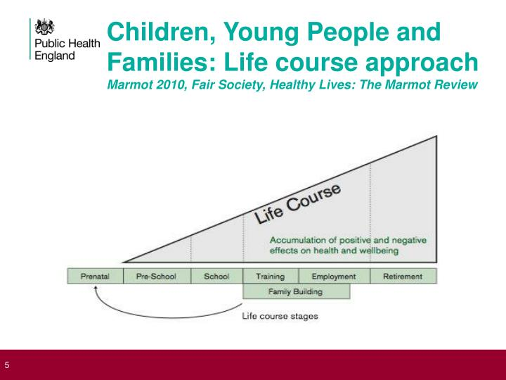 Children, Young People and Families: Life course approach