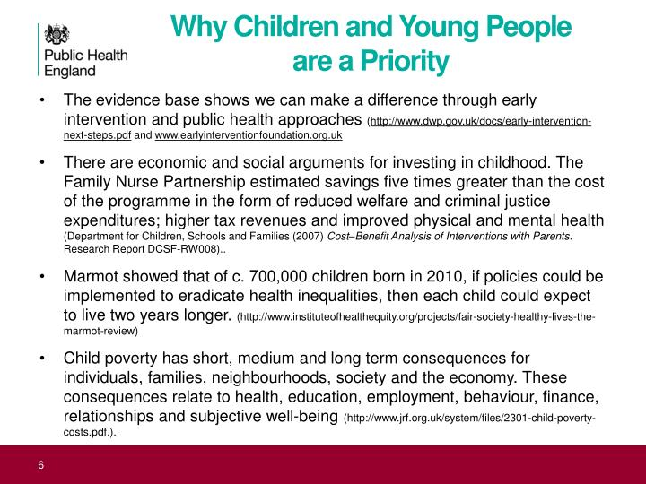 Why Children and Young People