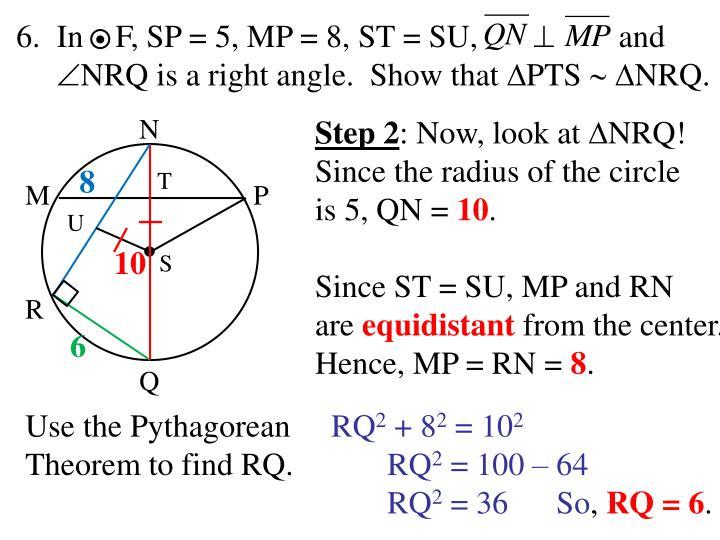 In    F, SP = 5, MP = 8, ST = SU,