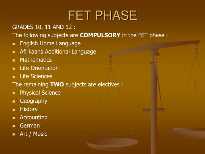 FET PHASE