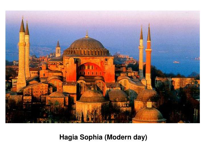 Hagia Sophia (Modern day)