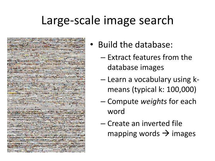 Large-scale image search