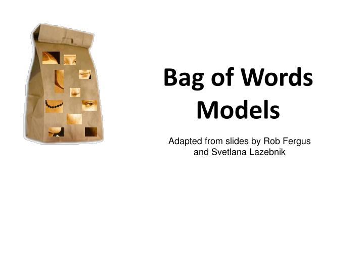 Bag of Words