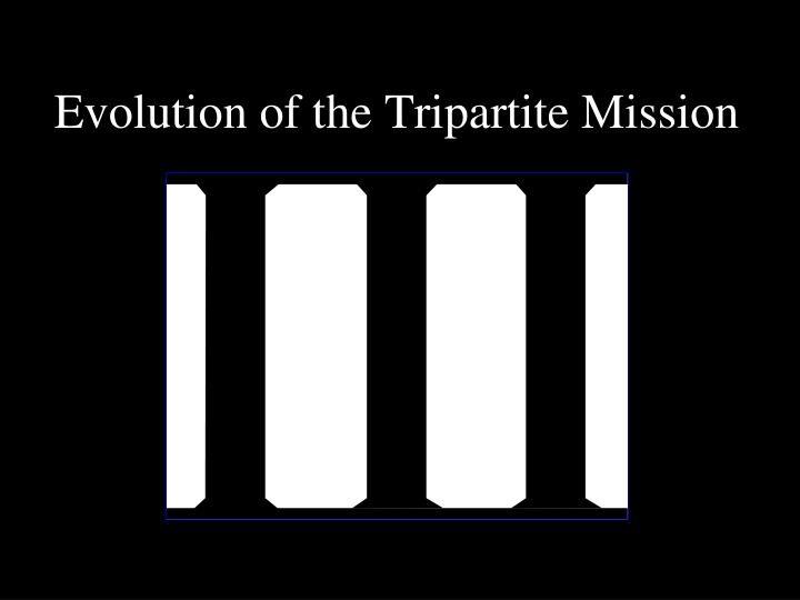 Evolution of the Tripartite Mission