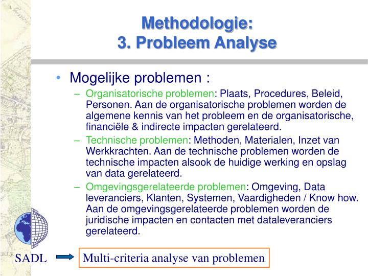 Methodologie: