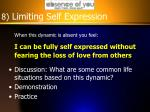 8 limiting self expression1