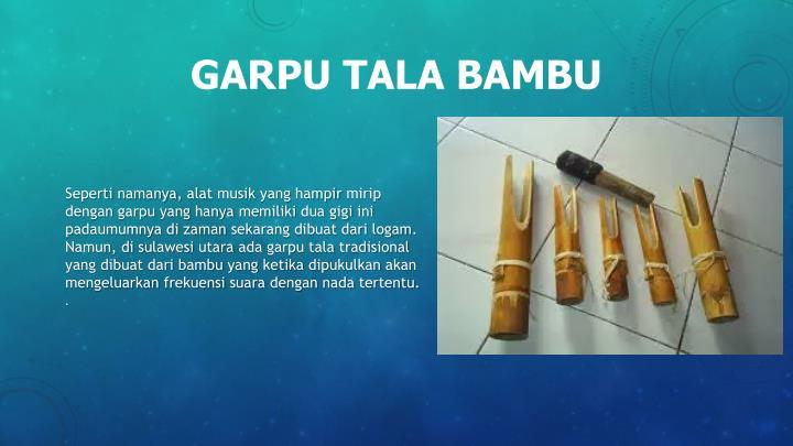 GARPU TALA BAMBU