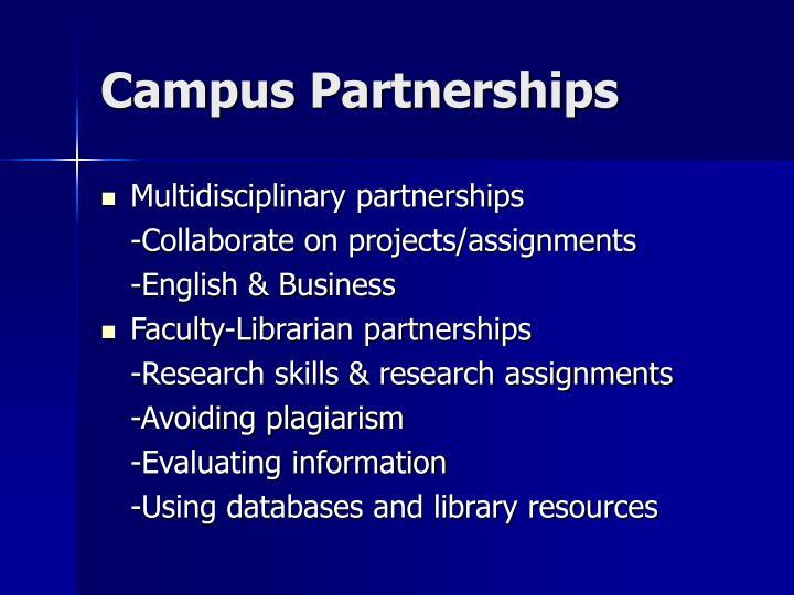 Campus Partnerships