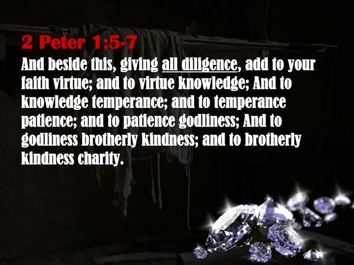 2 Peter 1:5-7
