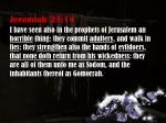 jeremiah 23 14