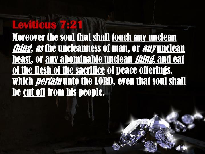 Leviticus 7:21