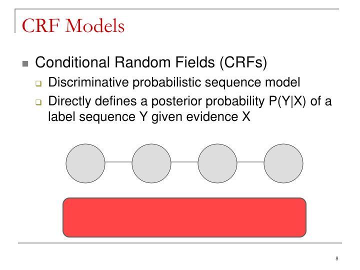 CRF Models