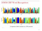 hmm crf word recognition11