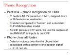 phone recognition7