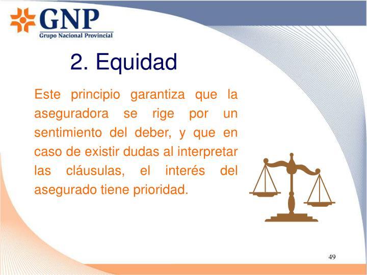 2. Equidad