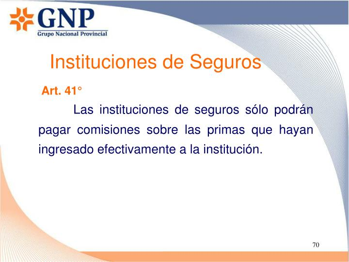 Instituciones de Seguros